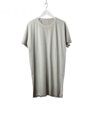BORIS BIDJAN SABERI BBS Men One Piece Tshirt Regular Fit Resin Dyed F035 cotton faded light grey hide m 2