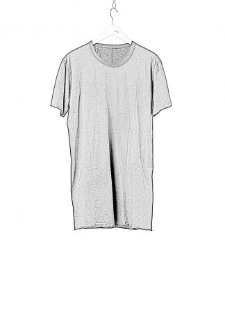 BORIS BIDJAN SABERI BBS Men TS1 Classic Tshirt Regular Fit Object Dyed F035 cotton black hide m 1