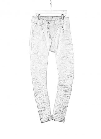 BORIS BIDJAN SABERI BBS P13TF FTS10001 men pants herren hose jeans cotton ly faded light grey hide m 1