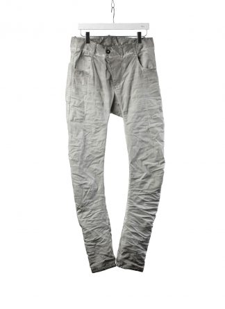 BORIS BIDJAN SABERI BBS P13TF FTS10001 men pants herren hose jeans cotton ly faded light grey hide m 2