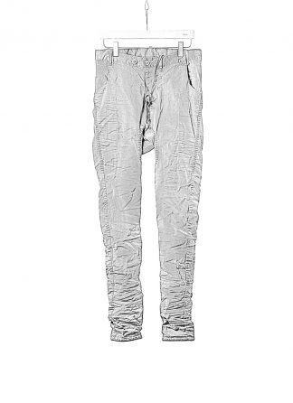 BORIS BIDJAN SABERI BBS P14 F1939 Men Pants 2h Hand Stitched Double Object Dyed Nickel Pressed 2 Tons Body Molded herren hose jeans cotton ly faded dark grey hide m 1