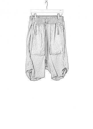 BORIS BIDJAN SABERI BBS Men Shorts Pants P8.1 F0409C Herren Short Hose cotton ly faded dark grey hide m 1