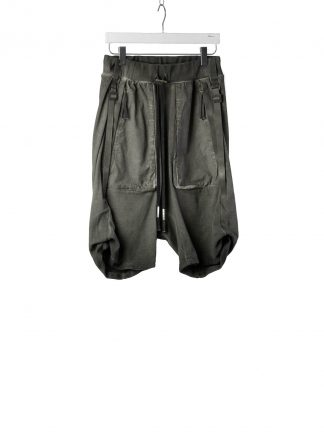 BORIS BIDJAN SABERI BBS Men Shorts Pants P8.1 F0409C Herren Short Hose cotton ly faded dark grey hide m 2