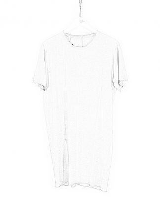 BORIS BIDJAN SABERI BBS Men Tshirt Regular Fit TS1 RF Resin Dyed F035 cotton faded light grey hide m 1