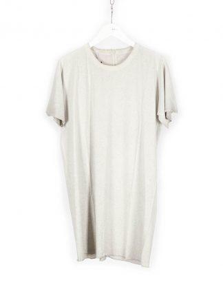 BORIS BIDJAN SABERI BBS Men Tshirt Regular Fit TS1 RF Resin Dyed F035 cotton faded light grey hide m 2