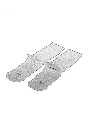 BORIS BIDJAN SABERI BBS SOCK3 socks socken bambus cotton black hide m 1
