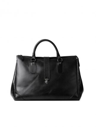 CHEREVICHKIOTVICHKI 111 2020B Travel Weekender Bag With Leather Closure Damen Tasche Calf Black hide m 2