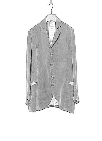 CHEREVICHKIOTVICHKI women relaxed blazer jacket damen jacke 12020 linen dark grey hide m 1