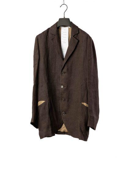 CHEREVICHKIOTVICHKI women relaxed blazer jacket damen jacke 12020 linen dark grey hide m 3