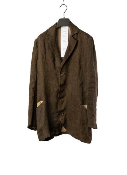 CHEREVICHKIOTVICHKI women relaxed blazer jacket damen jacke 12020 linen dark olive hide m 2