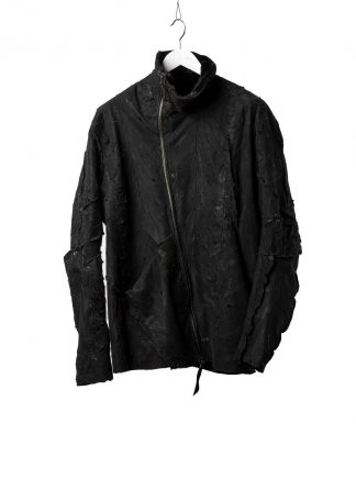 LEON EMANUEL BLANCK Men Distortion Jacket DIS M LJ SC LV 01 Exclusively genuine mink leather black hide m 2