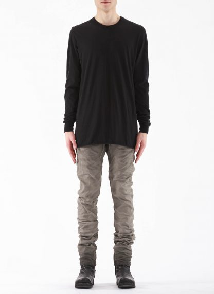 11 by BORIS BIDJAN SABERI BBS 11byBBS Men Longsleeve Tshirt LS1B F1101 Herren t shirt cotton black hide m 3