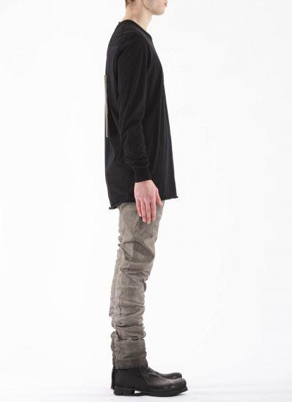 11 by BORIS BIDJAN SABERI BBS 11byBBS Men Longsleeve Tshirt LS1B F1101 Herren t shirt cotton black hide m 4