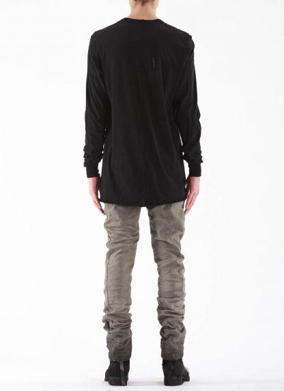 11 by BORIS BIDJAN SABERI BBS 11byBBS Men Longsleeve Tshirt LS1B F1101 Herren t shirt cotton black hide m 5