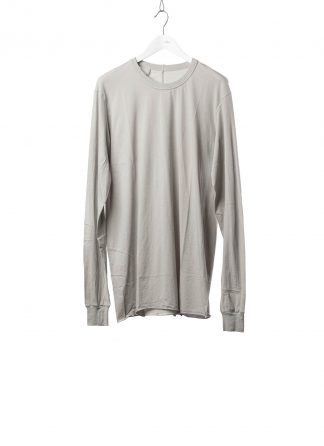 11 by BORIS BIDJAN SABERI BBS 11byBBS Men Longsleeve Tshirt LS1B F1101 Herren t shirt cotton light grey hide m 2
