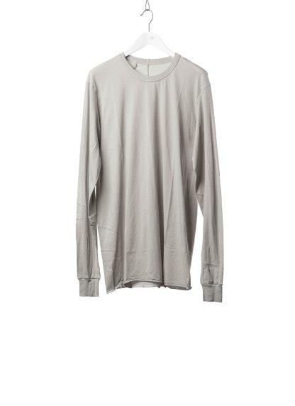 11 by BORIS BIDJAN SABERI BBS 11byBBS Men Longsleeve Tshirt LS1B F1101 Herren t shirt cotton light grey hide m 2