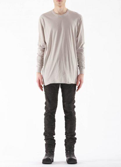 11 by BORIS BIDJAN SABERI BBS 11byBBS Men Longsleeve Tshirt LS1B F1101 Herren t shirt cotton light grey hide m 3