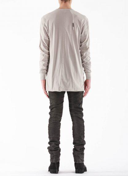 11 by BORIS BIDJAN SABERI BBS 11byBBS Men Longsleeve Tshirt LS1B F1101 Herren t shirt cotton light grey hide m 5