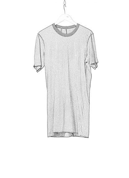 11 by BORIS BIDJAN SABERI BBS Men Tshirt TS1B F1101 Herren t shirt cotton acid grey hide m 1