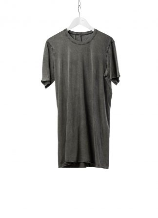 11 by BORIS BIDJAN SABERI BBS Men Tshirt TS1B F1101 Herren t shirt cotton acid grey hide m 2