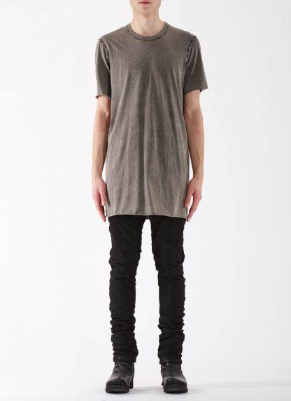 11 by BORIS BIDJAN SABERI BBS Men Tshirt TS1B F1101 Herren t shirt cotton acid grey hide m 3