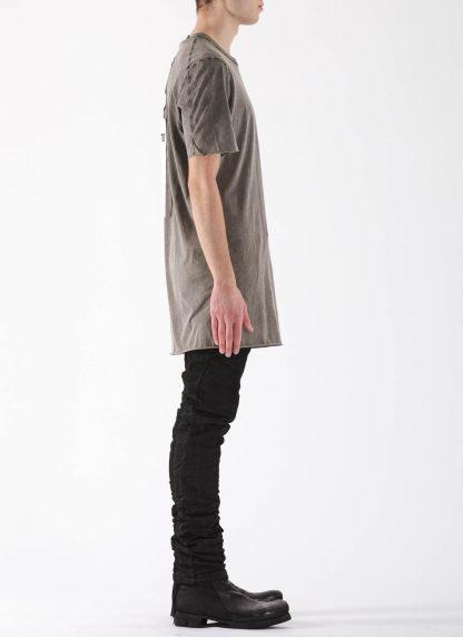 11 by BORIS BIDJAN SABERI BBS Men Tshirt TS1B F1101 Herren t shirt cotton acid grey hide m 4