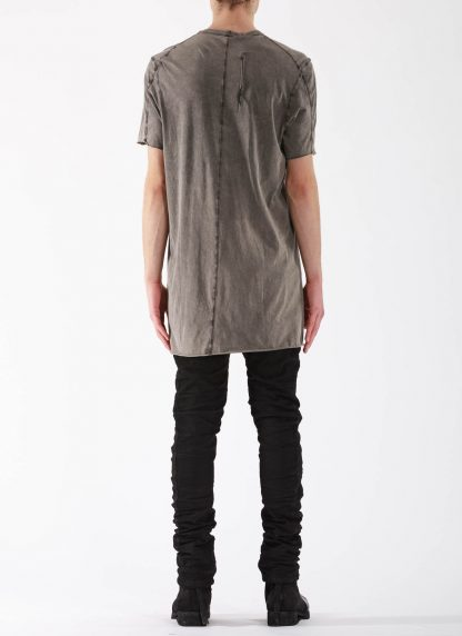 11 by BORIS BIDJAN SABERI BBS Men Tshirt TS1B F1101 Herren t shirt cotton acid grey hide m 5