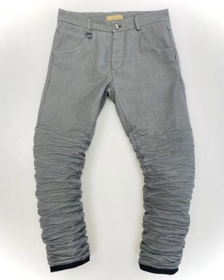 LAYER 0 5p pants light grey 1