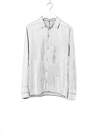 LAYER 0 Men Shirt BP 24 3 45 Herren Hemd cotton linen light grey hide m 1