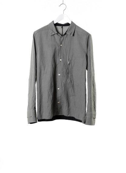 LAYER 0 Men Shirt BP 24 3 45 Herren Hemd cotton linen light grey hide m 2