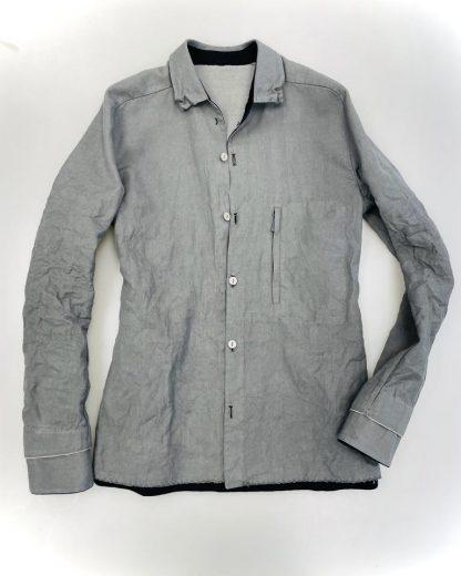 LAYER 0 shirt l grey 1
