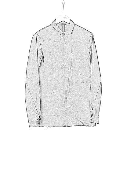 M.A Macross Maurizio Amadei Men Fitted Shirt H102 LE2 Herren Hemd Linen Em black hide m 1