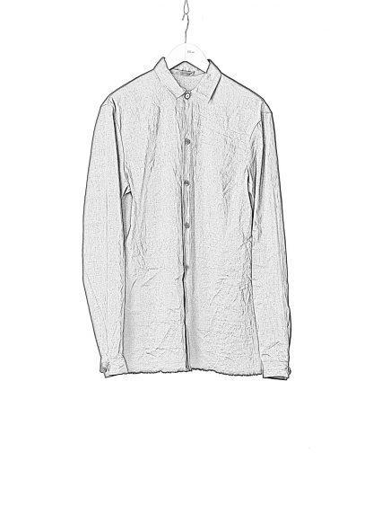 M.A Macross Maurizio Amadei Men Medium Fit Shirt H221 LE2 Herren Hemd Linen Em black hide m 1