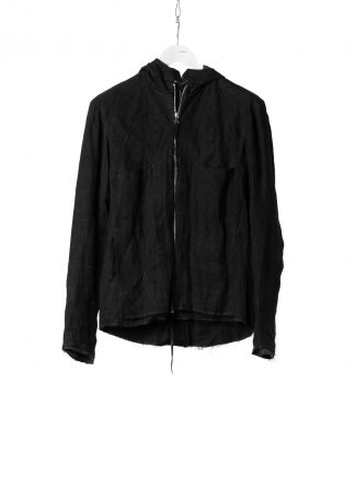 M.A Macross Maurizio Amadei Men Relaxed Aviator Jacket J224HZ LWX Herren Jacke waxed linen black hide m 2