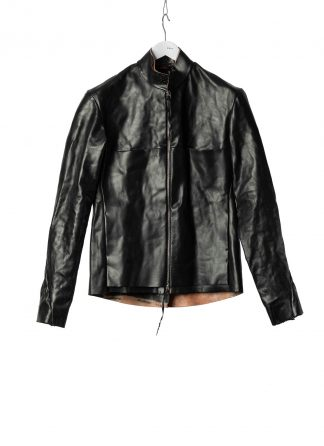 M.A Macross Maurizio Amadei Men Relaxed Biker Jacket J224Z CUF10 Herren Leder Jacke horse leather black hide m 2