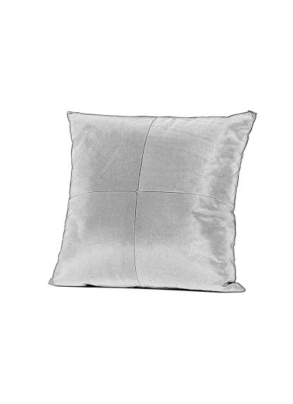 M.A Maurizio Amadei exclusive pillow case cases 50x50 kissen bezug kissenbezuge made in italy soft calf leather black hide m 1