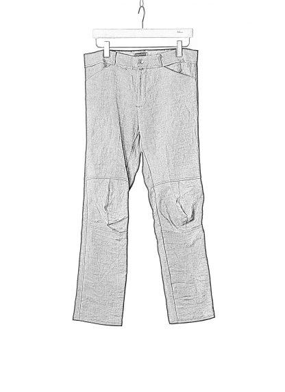 PROPOSITION CLOTHING Men Articulated Trousers Pants Herren Hose CL 0016 dead stock ramie dark grey hide m 1