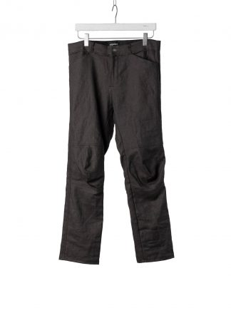 PROPOSITION CLOTHING Men Articulated Trousers Pants Herren Hose CL 0016 dead stock ramie dark grey hide m 2