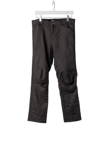 PROPOSITION CLOTHING Men Articulated Trousers Pants Herren Hose CL 0016 dead stock ramie dark grey hide m 2