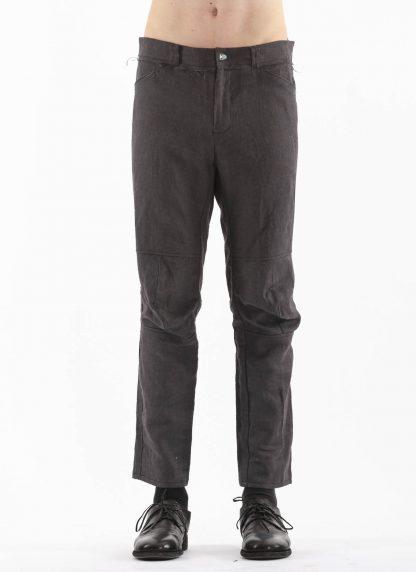 PROPOSITION CLOTHING Men Articulated Trousers Pants Herren Hose CL 0016 dead stock ramie dark grey hide m 3