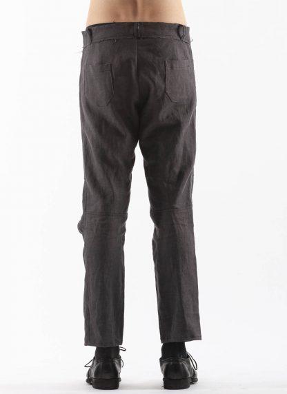 PROPOSITION CLOTHING Men Articulated Trousers Pants Herren Hose CL 0016 dead stock ramie dark grey hide m 5