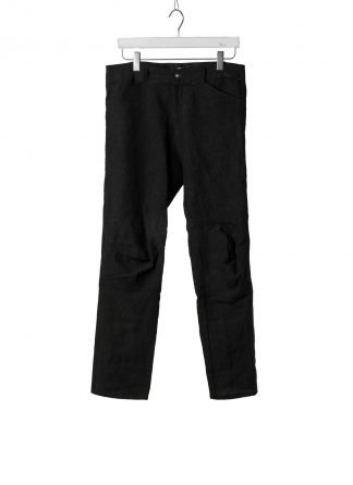PROPOSITION CLOTHING Men Articulated Trousers Pants Herren Hose CL 0016 overdyed linen black hide m 2