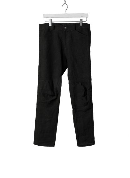 PROPOSITION CLOTHING Men Articulated Trousers Pants Herren Hose CL 0016 overdyed linen black hide m 2
