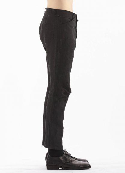 PROPOSITION CLOTHING Men Articulated Trousers Pants Herren Hose CL 0016 overdyed linen black hide m 4