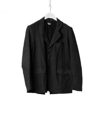PROPOSITION CLOTHING Men Blazer Tailored Jacket CL 0125 antique linen black hide m 2