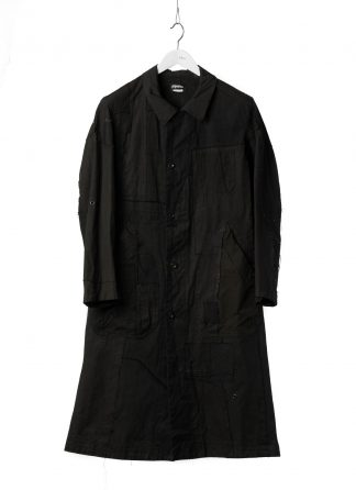 PROPOSITION CLOTHING Men Dust Coat Raincoat Herren Mantel CL 0165 overdyed vintage cotton shower proof black hide m 2