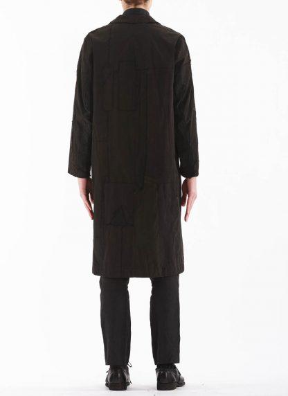 PROPOSITION CLOTHING Men Dust Coat Raincoat Herren Mantel CL 0165 overdyed vintage cotton shower proof black hide m 7
