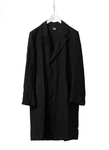 PROPOSITION CLOTHING Men Shop Coat Jacket Herren Mantel CL 0127 antique linen black hide m 2