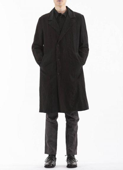 PROPOSITION CLOTHING Men Shop Coat Jacket Herren Mantel CL 0127 antique linen black hide m 5