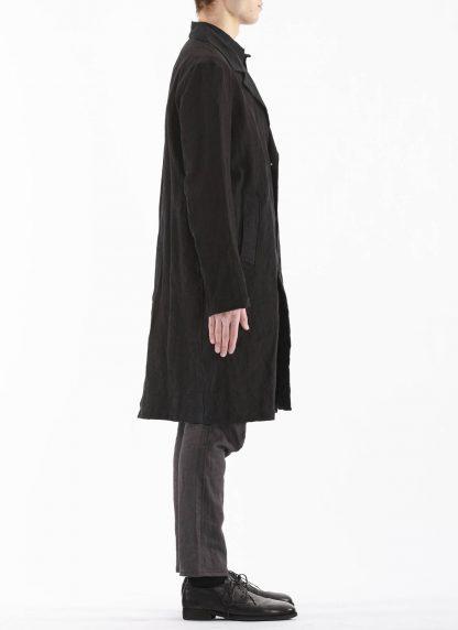 PROPOSITION CLOTHING Men Shop Coat Jacket Herren Mantel CL 0127 antique linen black hide m 6